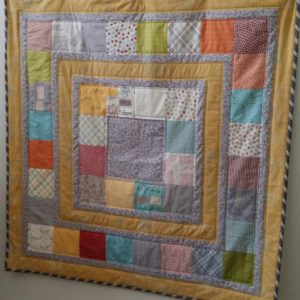 Building Blocks quilt kit