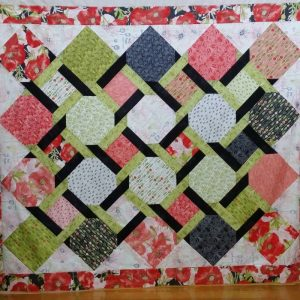 Twisting the nght away quilt kit