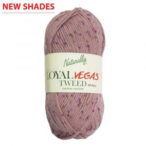 Loyal Vegas Tweed 8ply