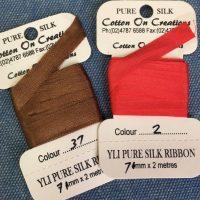 YLI Silk Ribbon 7 mm